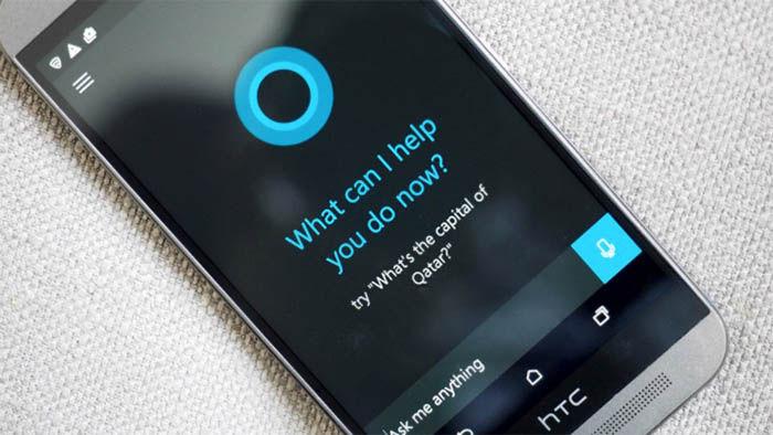 Cortana en un HTC