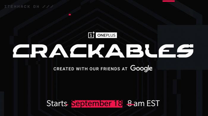 Crackables juego de OnePlus