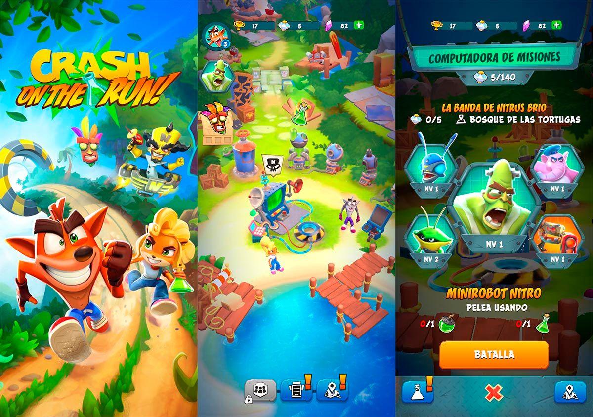 Crash Bandicoot On the Run para Android