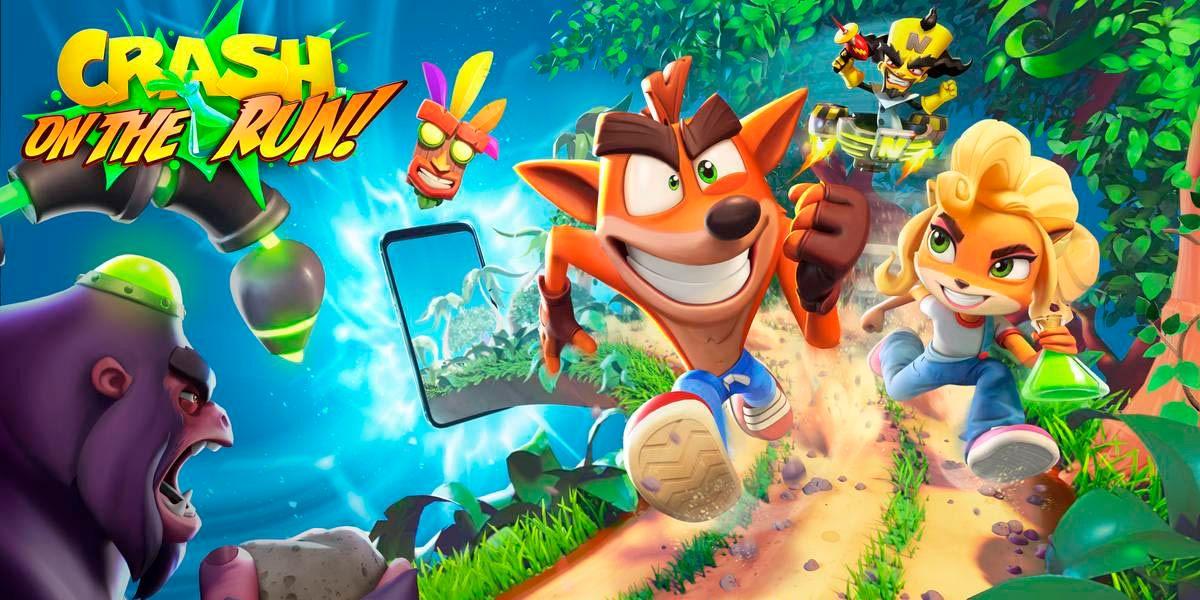 Crash Bandicoot On the Run ya esta en Android