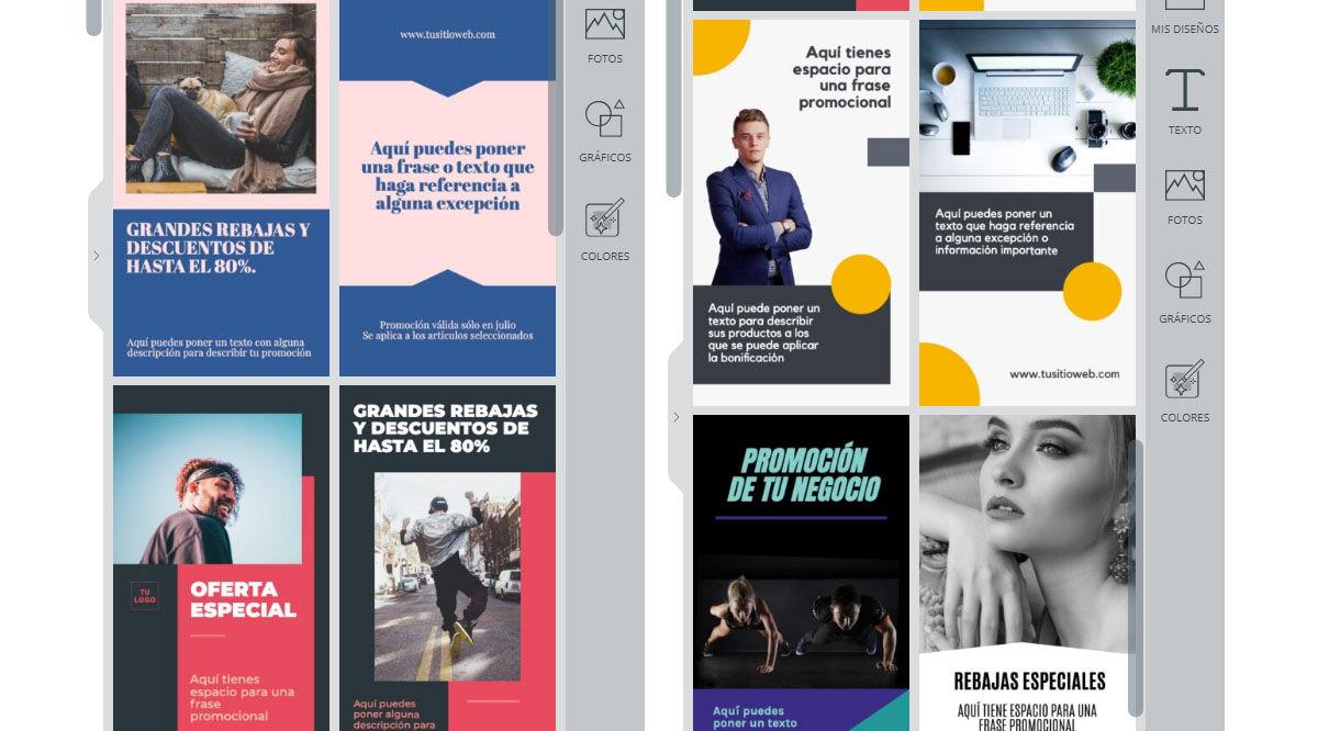 Crea las mejores historias de Instagram con estas plantillas personalizables gratuitas