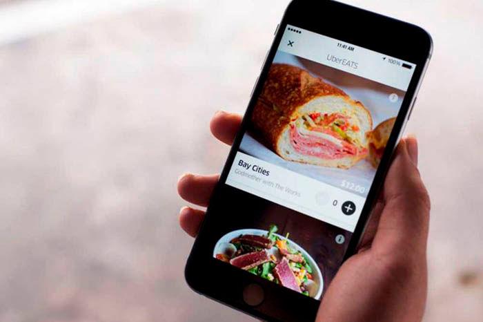 Crear cuenta Uber Eats