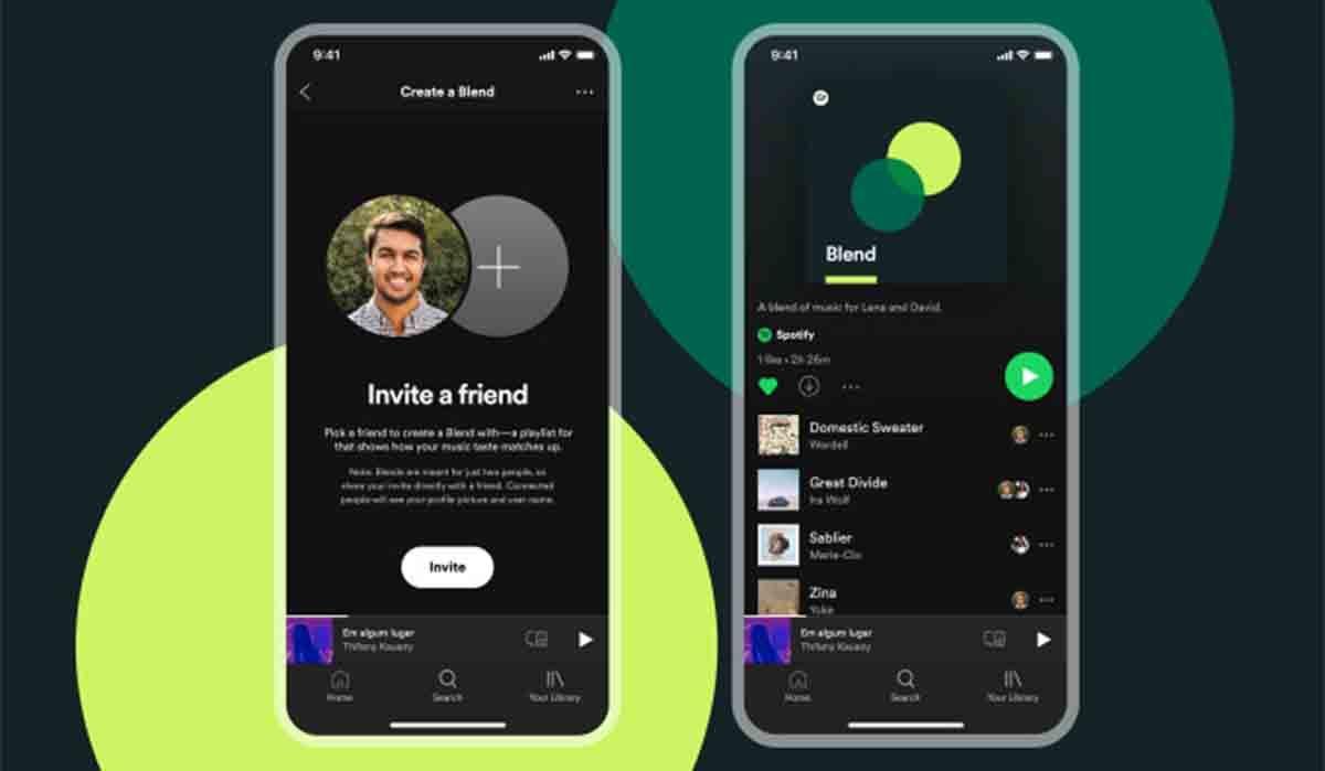 Crear listas Fusión Spotify