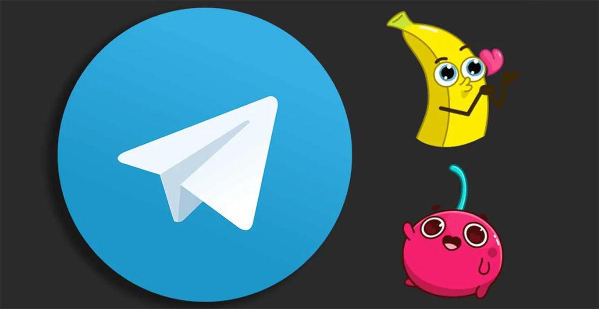 Crear stickers animados Telegram