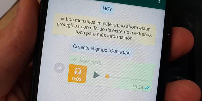 Crear un grupo en WhatsApp sin usuarios