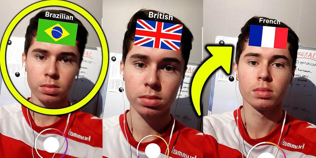 Cuál es tu nacionalidad filtro Instagram