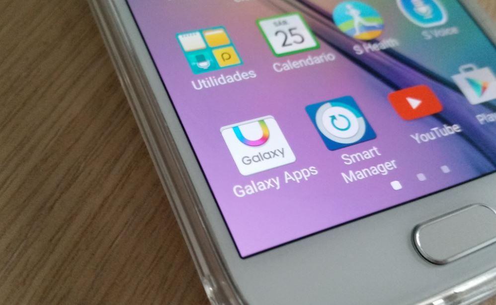Cuenta de Samsung en Galaxy S6
