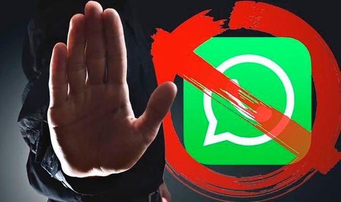 Cuenta de WhatsApp bloqueada por reenviar mensajes