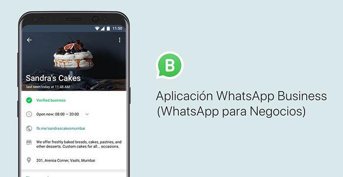 Cuenta verificada en WhatsApp Business