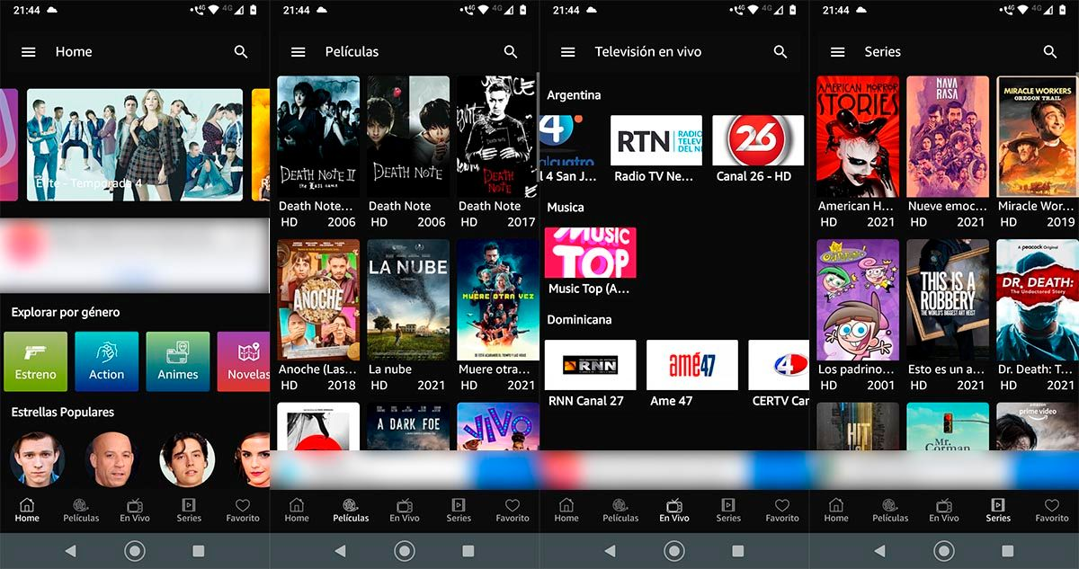 Cuevana 3 Premium APK sin anuncios