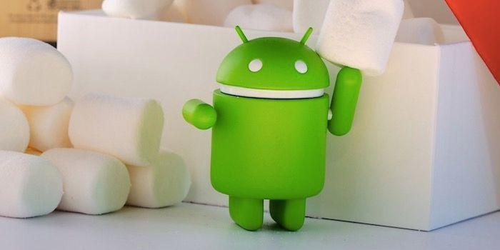 Cuota de uso de Android en noviembre de 2017