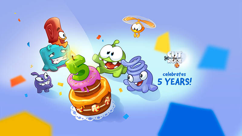 Cut the Rope Magic aniversario