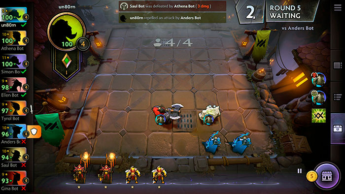 DOTA underlords android google play