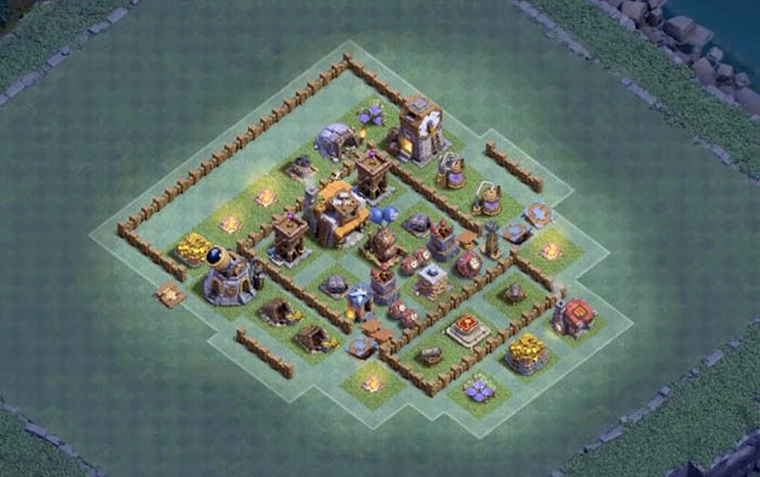 Defensa BH 5 en Clash of Clans 1