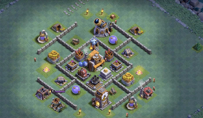 Defensa BH 5 en Clash of Clans 2
