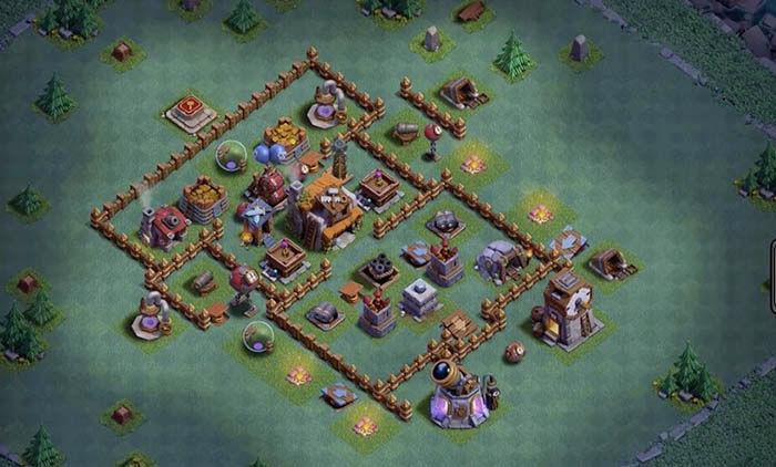 Defensa BH 5 en Clash of Clans 3