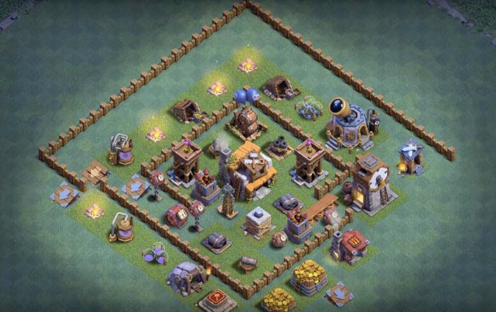 Defensa BH 5 en Clash of Clans 4