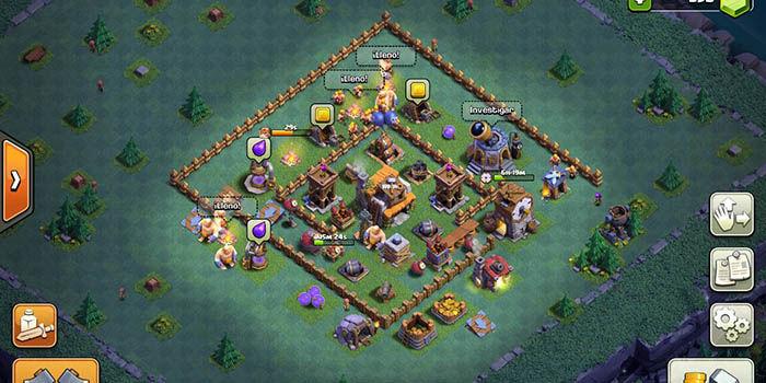 Defensa BH 5 en Clash of Clans 5