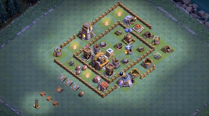 Defensa BH 5 en Clash of Clans 6