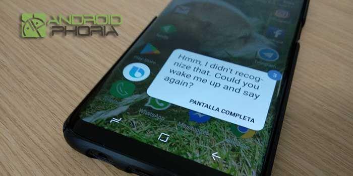 Desactivar Bixby Galaxy S8