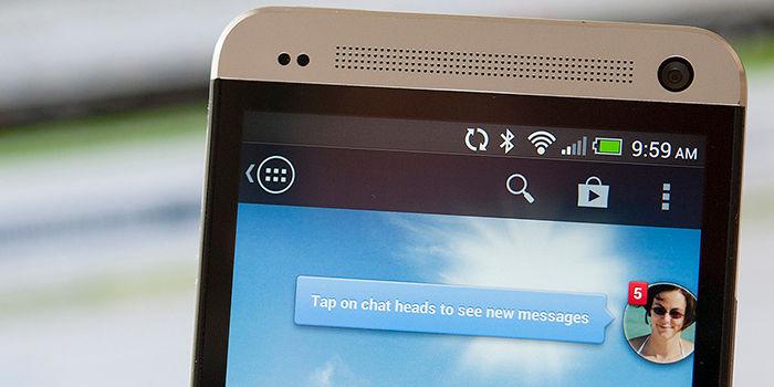 Desactivar burbujas de chat Messenger