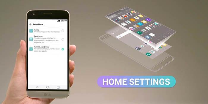 Desactivar cajon aplicaciones LG G5