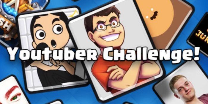 Desafío de YouTubers en Clash Royale