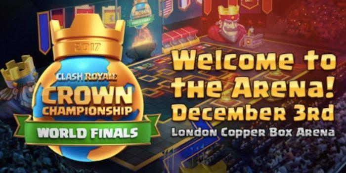 Desafío de las finales del Crown Championship en Clash Royale