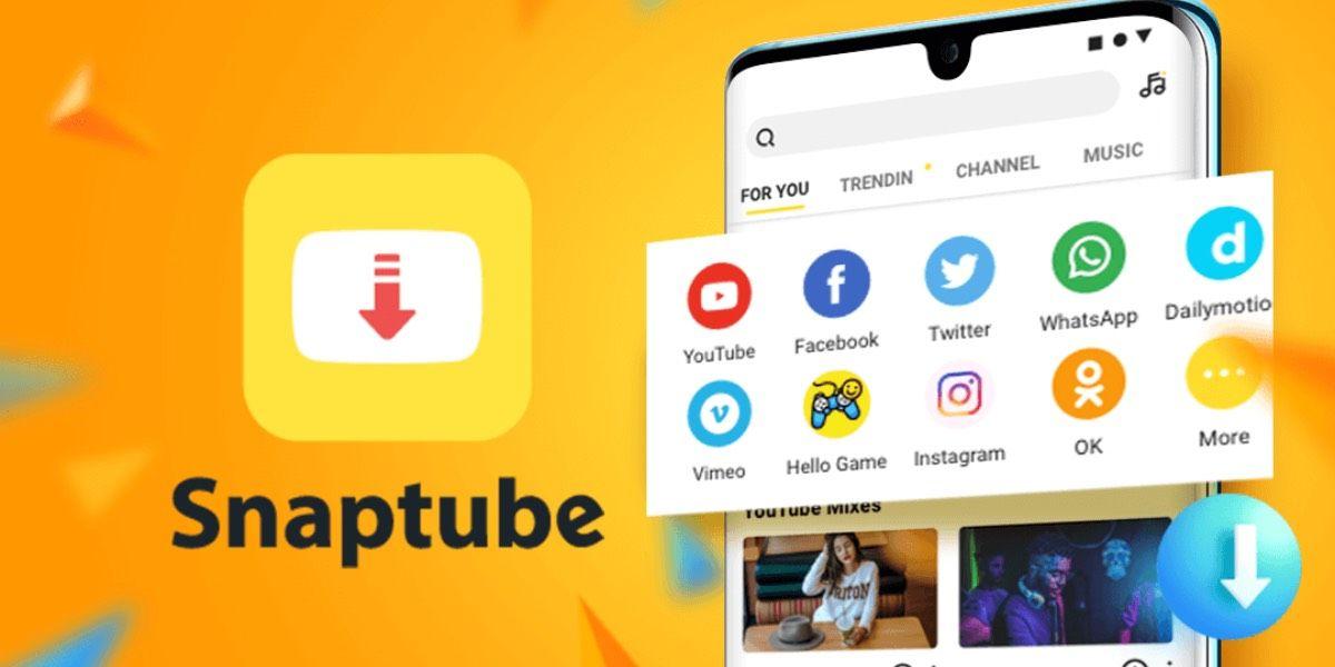 Descarga vídeos desde Snaptube