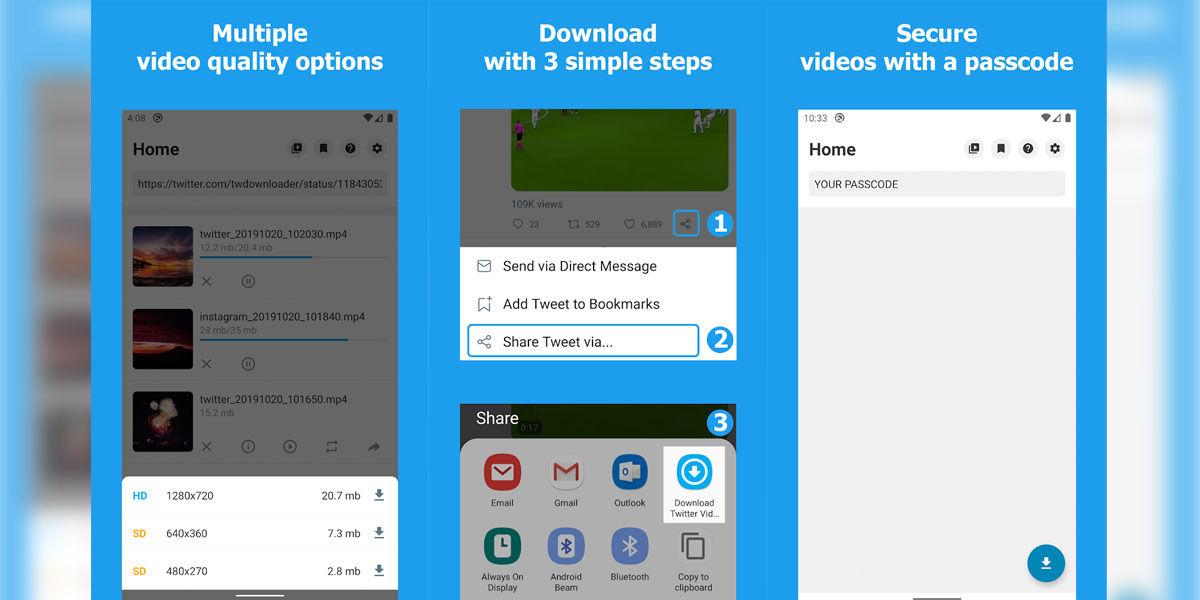 Descarga vídeos e imágenes animadas de Twitter totalmente gratis con esta aplicación