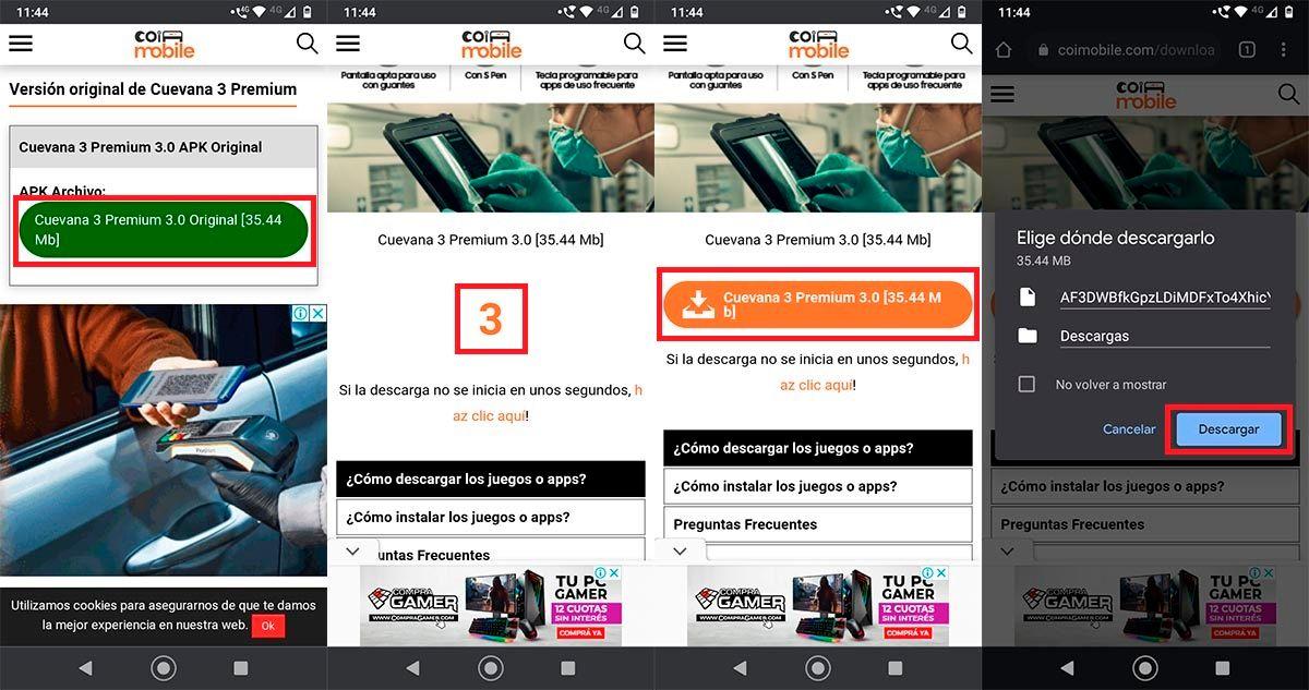 Descargar APK Cuevana 3 Premium Android