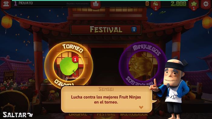 Descargar Fruit Ninja 5 aniversario gratis