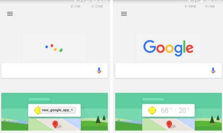 Descargar Google App 5.2.33 con el nuevo logotipo