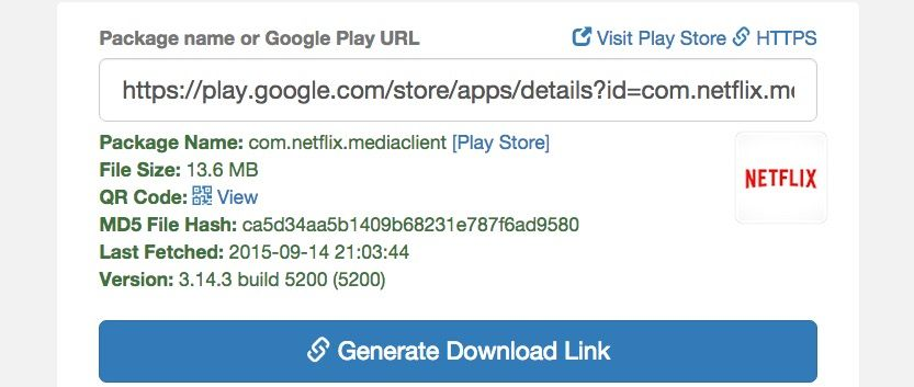 Descargar Netflix APK Downloader