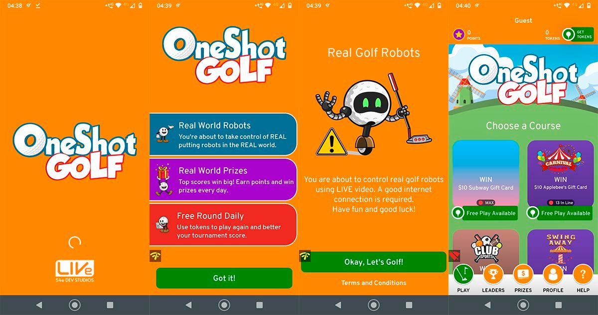 Descargar OneShot Golf en paises no disponible