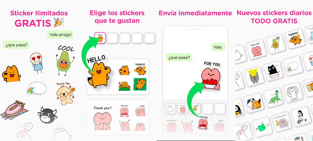 Descargar Stipop stickers para Android