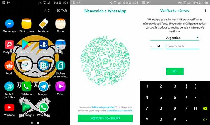 Descargar WhatsApp Paso 2