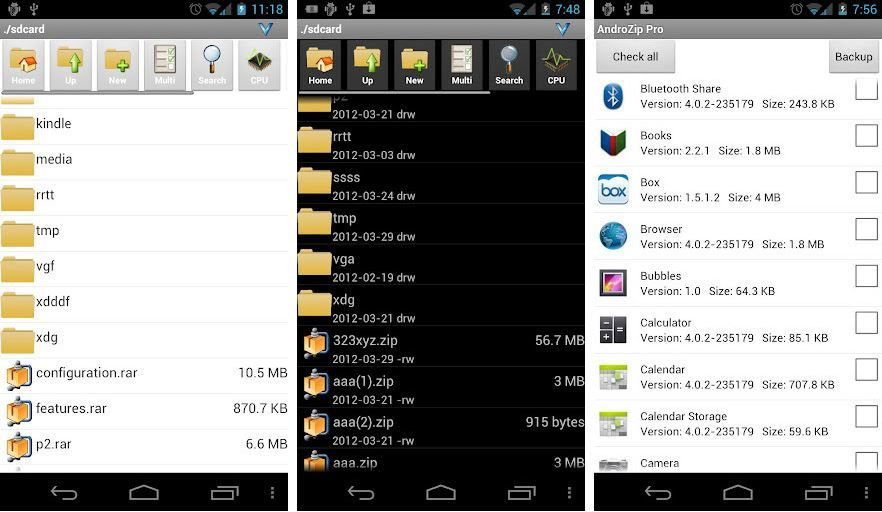 Descargar ZIP para Android
