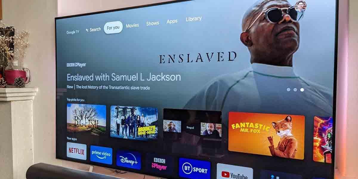 Descargar apps no admitidas en Google TV