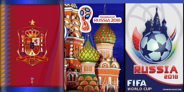 Descargar fondos Mundial Rusia 2018