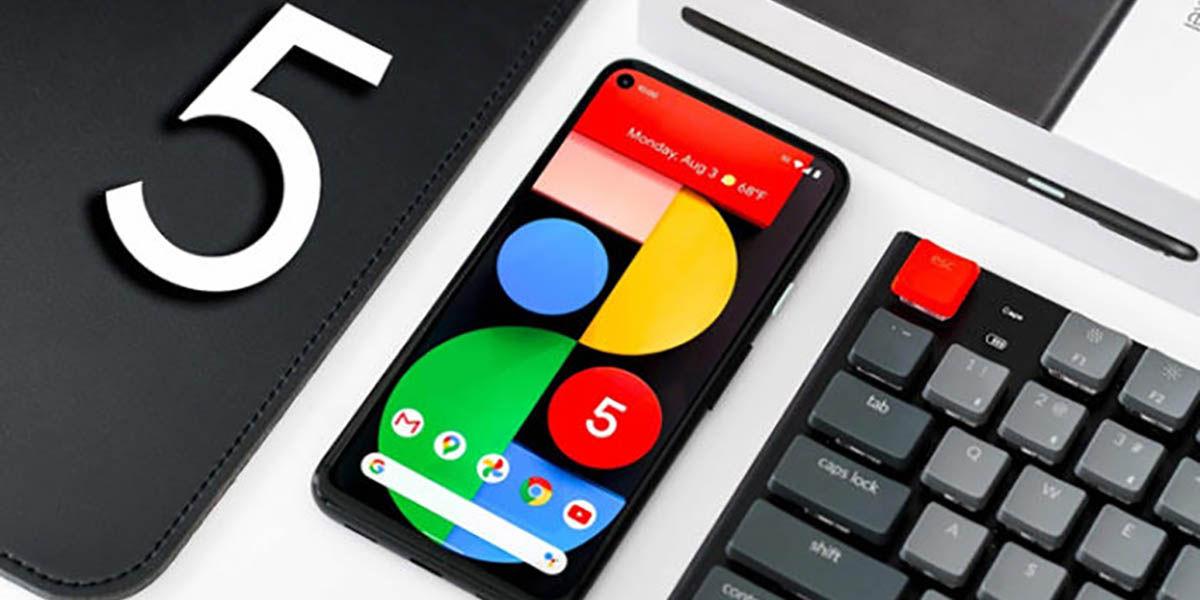Descargar fondos de pantalla Google Pixel 5