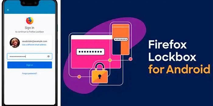 Descargar gestor de contrasenas Firefox Lockbox