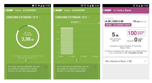 Descargar la aplicación de Yoigo para Android