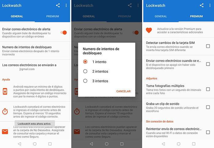 Descargar lockwatch aplicacion para Android