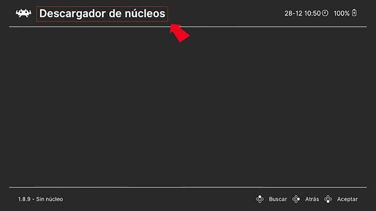Descargar nucleo RetroArch