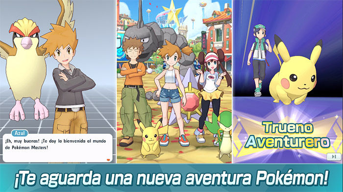 Descargar pokemon masters para Android