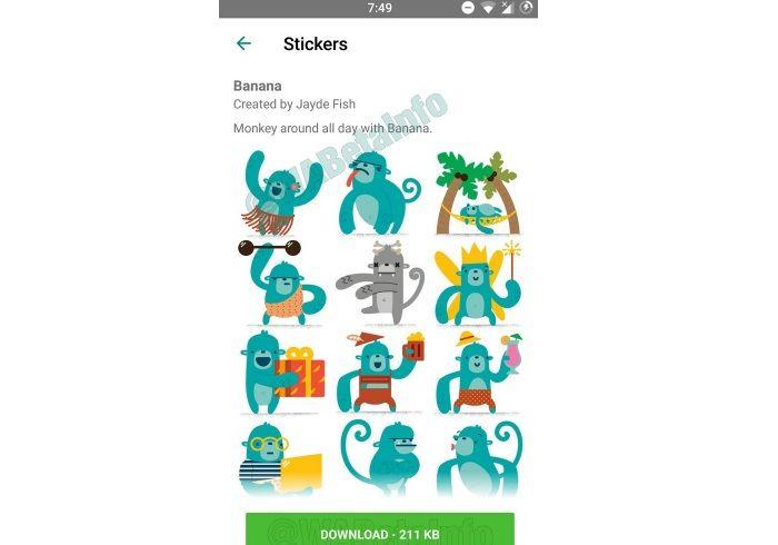 Descargar stickers en WhatsApp
