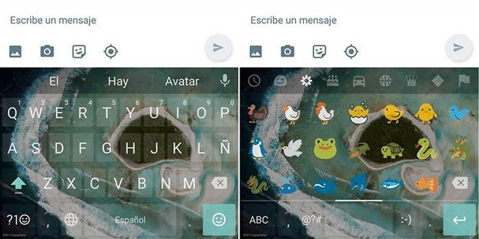 Descargar teclado Android 7 Nougat APK