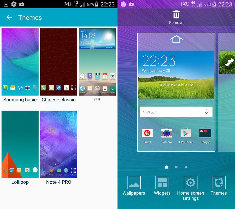 Descargar tema del Galaxy S6 para Galaxy S5