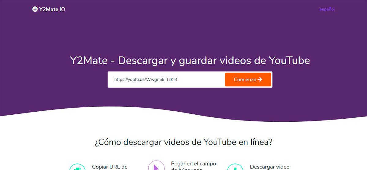 Descargar video de YouTube PC
